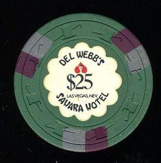 Uncirculated $1 Las Vegas Sahara Christmas Party Casino Chip