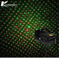 Music Control Green Red LED Stage Laser Lamp Mini DJ Club Disco Projector Sound Control Laser Stage Effect Light Party Christmas