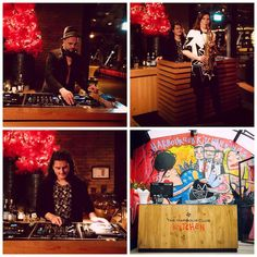 Gig pics: Christmas Eve at The Harbour Club - Amsterdam Zuid, together with DJ Leroy Rey and Gino Christiano. http://www.susannealt.com/weblog/christmas-eve-at-harbour-club-zuid/ #christmas #dj #sax #party #hiphop #disco #house #soulfulhouse