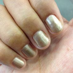 """Love this color -- """"Glitzerland"""" by OPI #nails #manicure"""