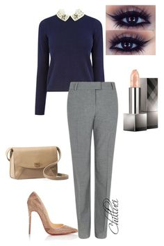 Autumn 2015 by chilluci on Polyvore featuring Oasis, Fenn Wright Manson, Christian Louboutin, UGG Australia and Burberry