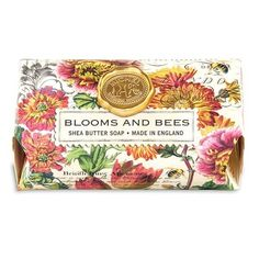 Blooms and Bees Large Bath Soap