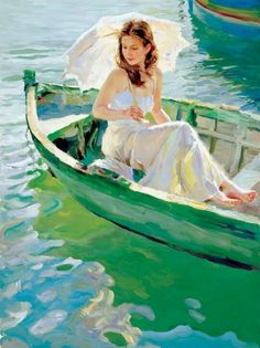 Vladimir Volegov On the Lake painting is available for sale; this Vladimir Volegov On the Lake art Painting is at a discount of off. Woman Painting, Figure Painting, Painting & Drawing, Vladimir Volegov, Fine Art, Beautiful Paintings, Painting Inspiration, Female Art, Amazing Art