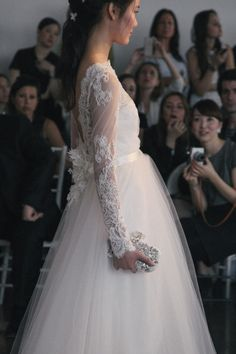 Marchesa Spring 2015 Bridal Show. Photo: Karissa Fanning / The LANE. (instagram: the_lane)