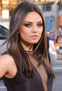 Le lissé minimaliste de Mila Kunis