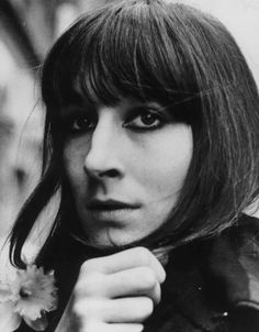 Young Anjelica Huston in a Bla... is listed (or ranked) 2 on the list 21 Pictures of Young Anjelica Huston