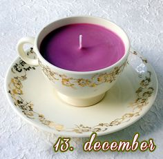En kop hjemmelavet The-lys – 13. december