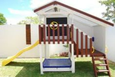 Wooden Cubby House Accessories | Cubbies House #mycubby #Australianmade #Australia #backyard #play