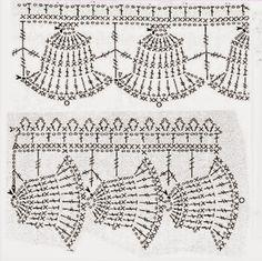 Grace y todo en Crochet: Lace Christmas .....Puntilla Navideña.....