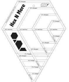 Pinterest • The world's catalog of ideas : 60 degree triangle quilting ruler - Adamdwight.com