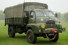 Antique Trucks, Vintage Trucks, Bedford Truck, Old Lorries, Armoured Personnel Carrier, Army Vehicles, Classic Sports Cars, Military Diorama, 4x4 Trucks
