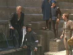 Benvolio In Romeo And Juliet | 1968 Romeo and Juliet by Franco Zeffirelli Mercutio & Benvolio Waiting ...