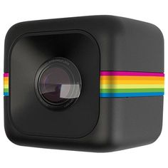Capture all of your in-action moments with this Polaroid Cube Lifestyle HD action camera that features a compact, shockproof and coldproof design. The camera comes with a microSD memory card slot for easy exporting.