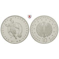 Bundesrepublik Deutschland, 10 Euro 2011, nach unserer Wahl, A-J, 10,0 g fein, PP: 10 Euro 2011 nach unserer Wahl, A-J.… #coins