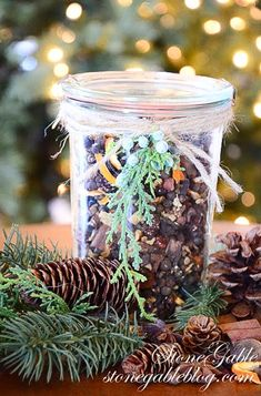 Make your own            Make your own Christmas fragrance and give as gifts!      Ch