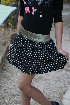 Coudre un élastique sur une jupe: les 10 étapes - Jour de Couture
