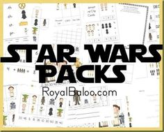 Free Homeschool Printables: Star Wars Free Printable Worksheets Pack