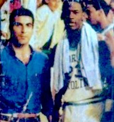 A rare photo:Nick Galis and Michael Jordan!Galis was born in USA but became one of the best basketball players in Europe(for some people the greatiest!)