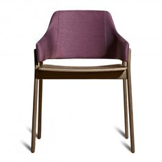 The Clutch Dining Chair by Blu Dot will help you get your Radiant Orchid fix while still being modern.
