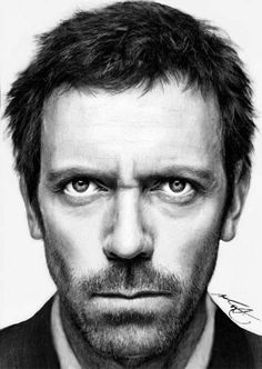 Drawing: Hugh Laurie