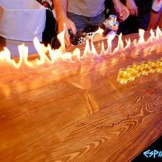 "BARCELONA: Espit Chupitos Bar..100s of shots including the ""Harry Potter"""