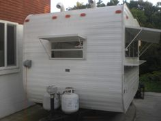 11 x 7 Food Trailer Rady for Work Food Trailer, Bakery Ideas, Vintage Trailers, Travel Trailers, Recreational Vehicles, Camping, Coffee, Inspiration, Ebay