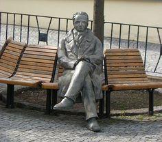 Goethe-Denkmal in Ilmenau Color Theory, Evolution, Garden Sculpture, Colours, Outdoor Decor, Public, Street, Sculptures, Walkway