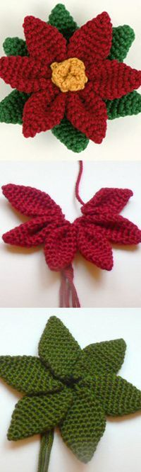 Poisenttia Crochet FREE tutorial and pattern