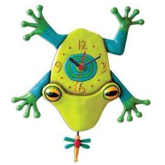 Big Croak (Frog) Clock Michelle Allen Designs