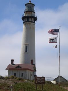 Pigeon Point Lighthouse in CA