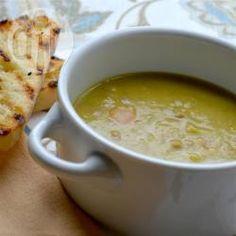 Recipe photo: Hearty pea and ham soup
