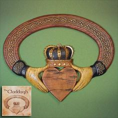Claddagh Wall Hanging  -