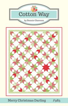 Cotton Way — Merry Christmas Darling Paper Pattern #983 Another one to make!
