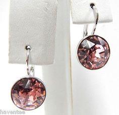 10e8a8fb47b8 Swarovski Light Rose Mini Bella Pierced Earrings from Borsheims for ...