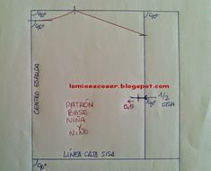 LO MIO ES COSER..... Y HACER PATRONES: 2015 Sewing Paterns, Easy Sewing Patterns, Dress Patterns, Pattern Drafting, Paper Shopping Bag, Girls Dresses, Lily, Crochet, Fashion Design