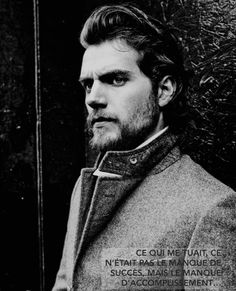 "Henry Cavill ""what kills me is not the lack of success, but the lack of accomplishment"""
