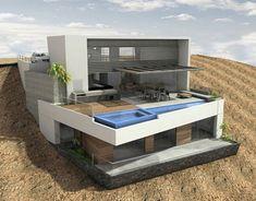 ARQUIMASTER.com.ar | Proyecto: Casa Palillos E-3 (Beach House E-3) (Playa…