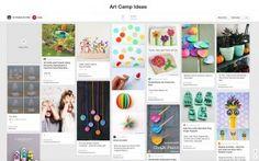Art Projects for Kids: Planning an Art Camp, Day 1 via ElementarySchoolBlogs