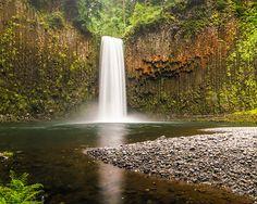 Abiqua Falls, Silver Falls State Park, Oregon.