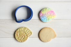 Etsy のRound shell cookie cutter(ショップ名:TheCookieCutterLand)