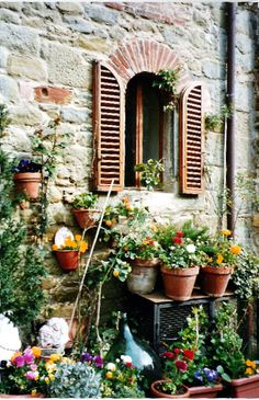 House in Cortona, Tuscany, Italy Copyright: Monica Aguilar