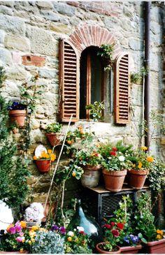 House in Cortona, Tuscany, Italy Copyright: Monica Aguilar