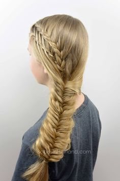 hair styles braid easy braided style for summer from babesinhairland 1642
