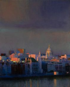 Andrew Gifford: From Southbank Towards the City 2
