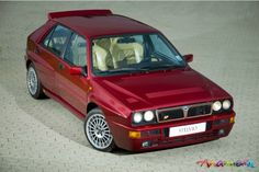 Lancia Delta HF Integrale 2.0 16v with original Group N Rallychip from Abarth 295 HP Owned 1996 - 2000
