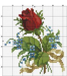 Kanaviçe Çiçek Örnekleri (12)