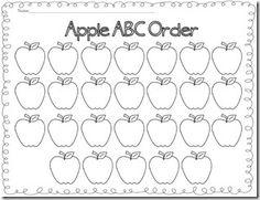 Eating in Alphabetical Order - ABC Order Worksheet 2 ...