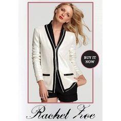 Rachel Zoe sequin jacket