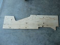 P1010969 | Plywood template used for the two sides (my origi… | Flickr