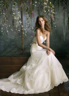 Bridal Gowns, Wedding Dresses by Tara Keely - Style tk2052